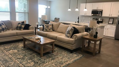 Majestic Manor - DSLD Homes - Foley, Alabama - Living room