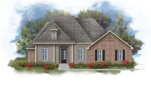 Rossi III D Open Floorplan Elevation  Image - DSLD Homes