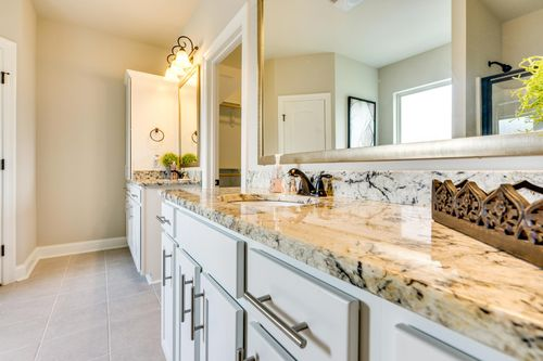 The Estates at Moss Bluff - Model Home Master Bathroom - DSLD Homes - Sycamore II A - Lafayette, LA