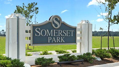 Somerset Park Entrance Sign - DSLD Homes - Sterlington, LA