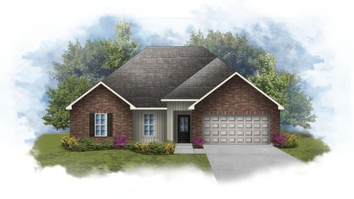 Norman III G - Front Elevation - DSLD Homes