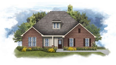 Conway II A Open Floorplan Elevation Image - DSLD Homes