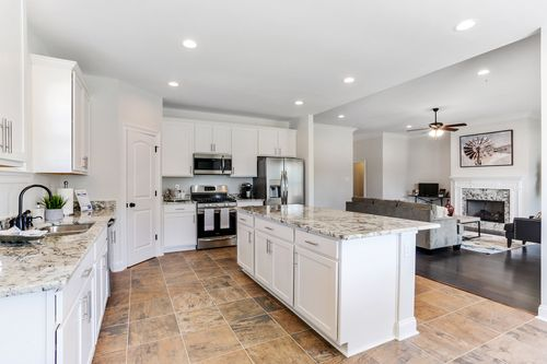 Ashton Parc - Model Home Kitchen - DSLD Homes - Cognac IV B - Slidell, LA