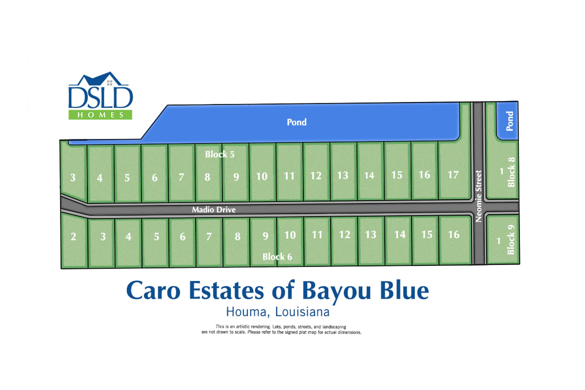 Caro Estates of Bayou Blue
