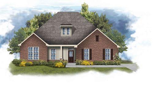 Conway II G - Floor Plan- Huntsville