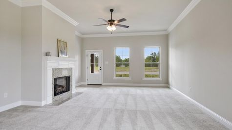 Arbor Walk Living Room - DSLD Homes- Arbor Walk- Denham Springs, Louisiana
