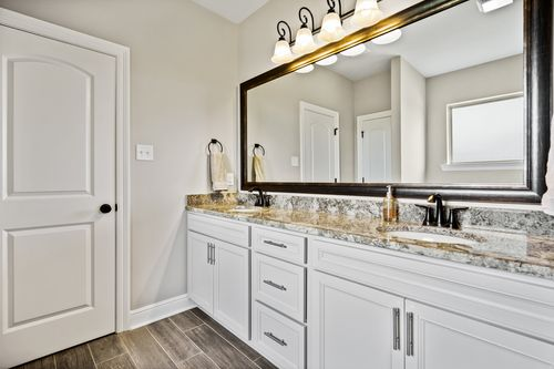 Orleans Run - Model Home Master Bathroom - DSLD Homes - Trillium III A - Lake Charles, LA