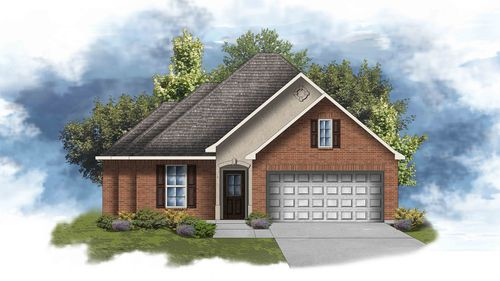 Cypress II A - Open Floor Plan - DSLD Homes
