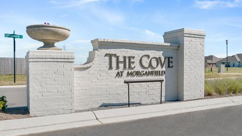 Community Entrance - DSLD Homes in Lake Charles - The Cove at Morganfield