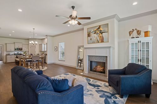 Brookstone - Prairieville, LA - DSLD Homes - Fallon II A Floor Plan