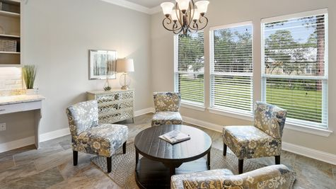 The Waters Model Home Professional Pictures - Dining Room  - DSLD Homes