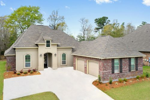 Northern Oaks - Model Home Exterior - DSLD Homes - Renoir III B - Pass Christian, MS