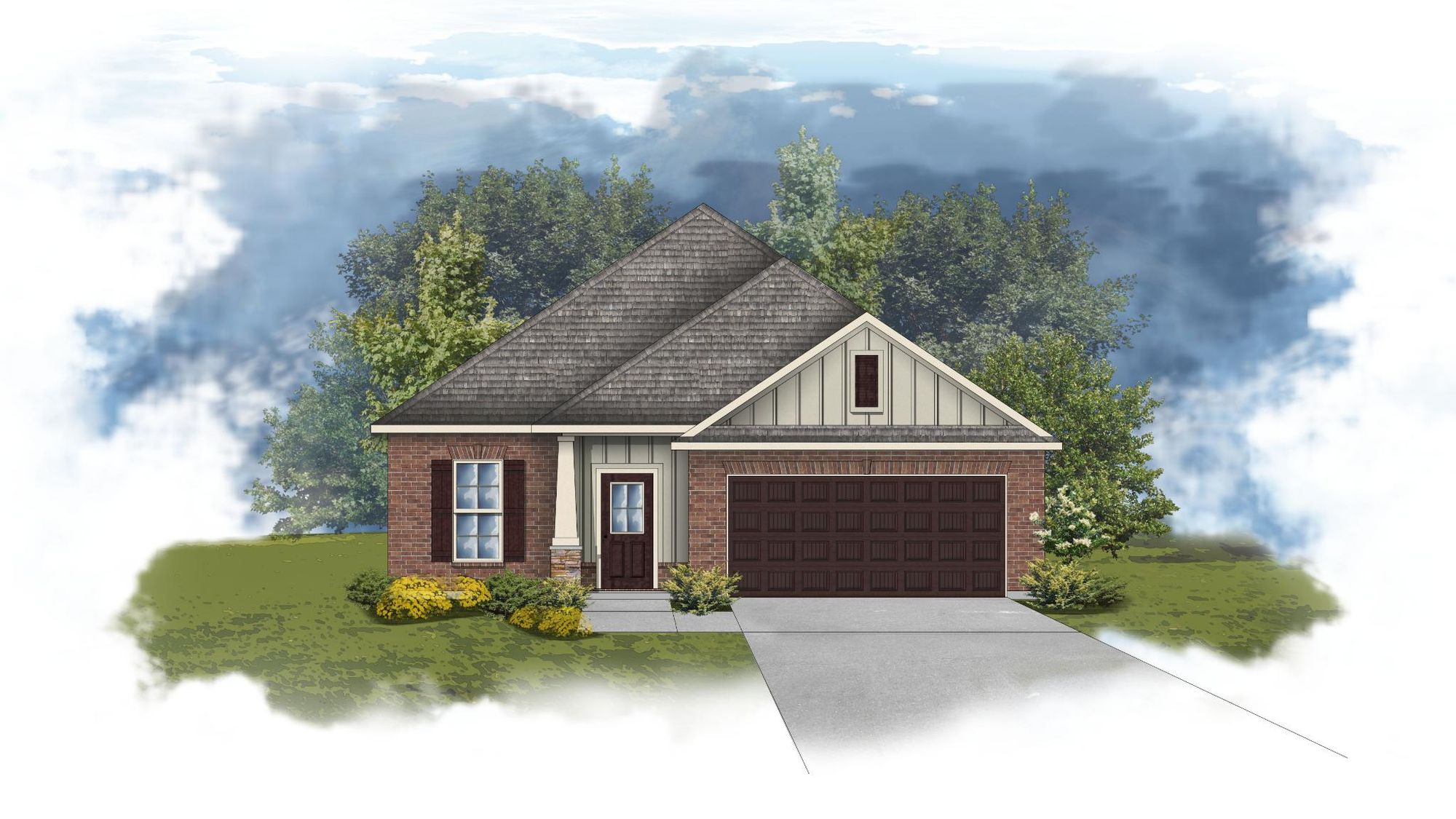 Durham II A - CY - Open Floor Plan - DSLD Homes