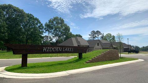 DSLD Homes- Hidden Lakes Estates- Denham Springs- Community Entrance Sign