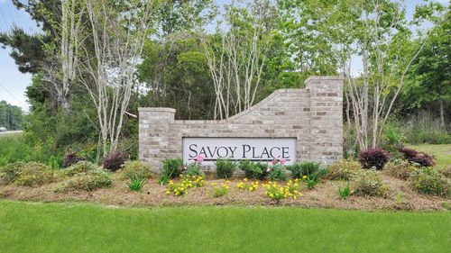 Front Entrance Sign - Savoy Place - DSLD Homes Gulfport