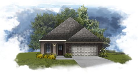 Fontaine IV A - Open Floor Plan - DSLD Homes