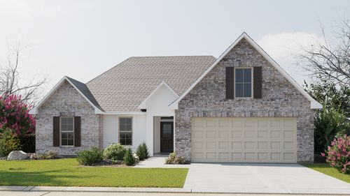 Ramsey IV B - Front Elevation - DSLD Homes