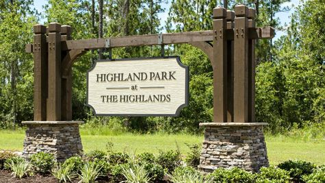 Community Sign - DSLD Homes - Spanish Fort - Highland Park