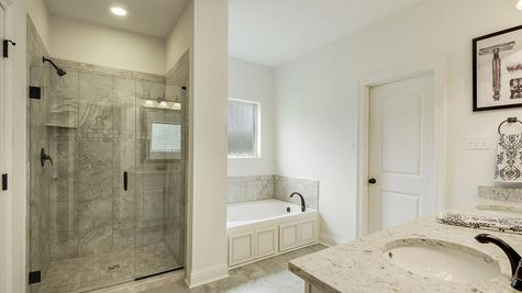 Master Bathroom - Spring Lakes- DSLD Homes Covington