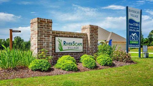 Front Entrance - RiverScape Village - DSLD Homes Shreveport