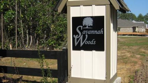 Community Signs - DSLD Homes - Spanish Fort - Savannah Woods