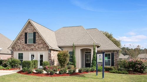 Front View of Model Home - DSLD Homes - Ponchatoula