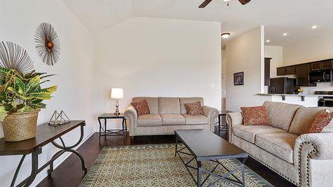 Living Room - Belle Savanne - DSLD Homes Lake Charles