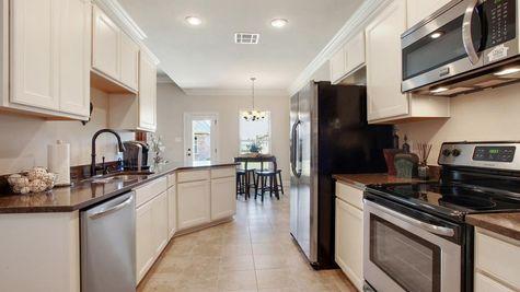 King George Estates Model Home Kitchen - King George Estates Community - DSLD Homes - Thibodaux