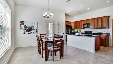 Dining Room - RiverScape Village - DSLD Homes Shreveport