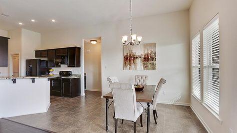 Dining Room - Belle Savanne - DSLD Homes Lake Charles