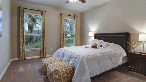 Moss Bluff Model Master Bedroom - Moss Bluff Community - DSLD Homes - Lafayette