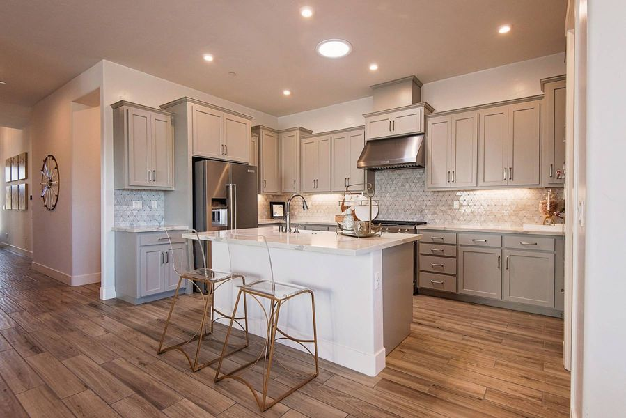elliott homes with kitchen in a new home in sacramento ca