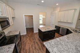 Customer selections - kitchen with optional island