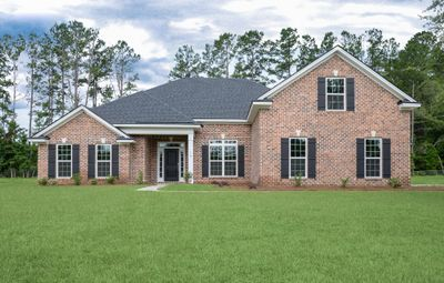 Elevation with optional bonus room