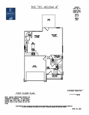 The St Helena Floor Plan Ernest Homes