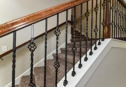 Iron balusters