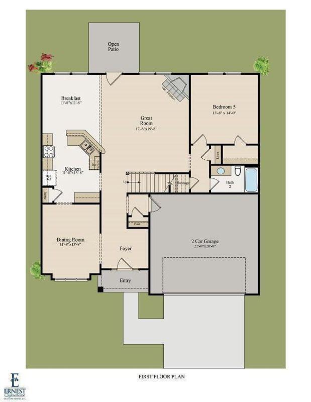 Hilton 1st Floor Plan