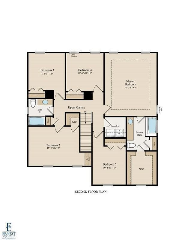 Greybeard 2nd Floor Plan