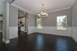 Dining Room added wainscoting