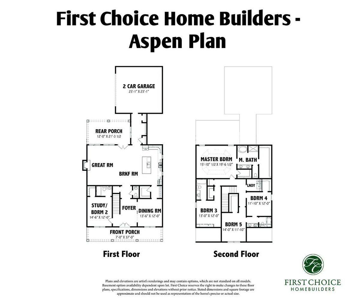 Aspen ll Floor Plan