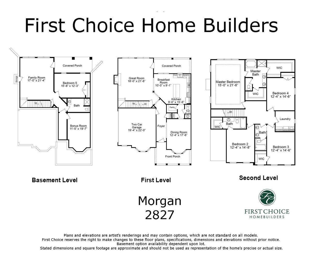 Morgan 2827 Marketing Floor Plan