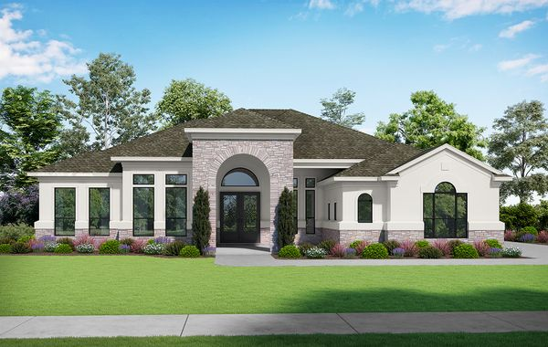 The Republic - Elevation T. Images are artist renderings and will differ from the actual home built.