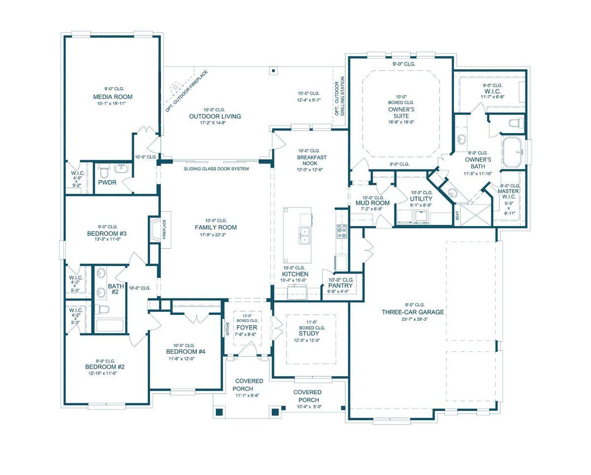 Brady- Floor plan