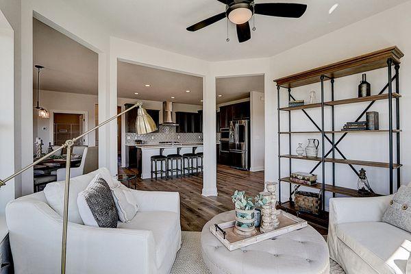1398 Overlook Circle, Sunroom/Kitchen - Halen Homes