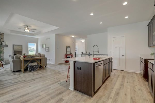 818 Bridlewood Drive, kitchen and great room
