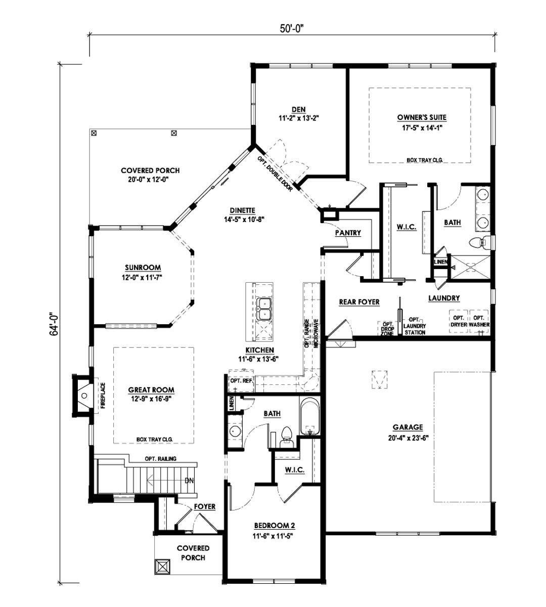 The Emory Floorplan- Halen Homes