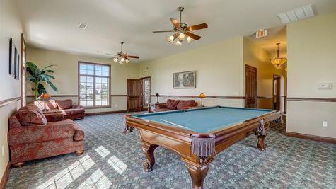 Bridlewood Clubhouse Billiards Room - Halen Homes