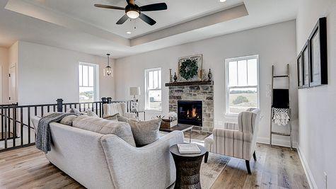 1398 Overlook Circle, Great Room - Halen Homes