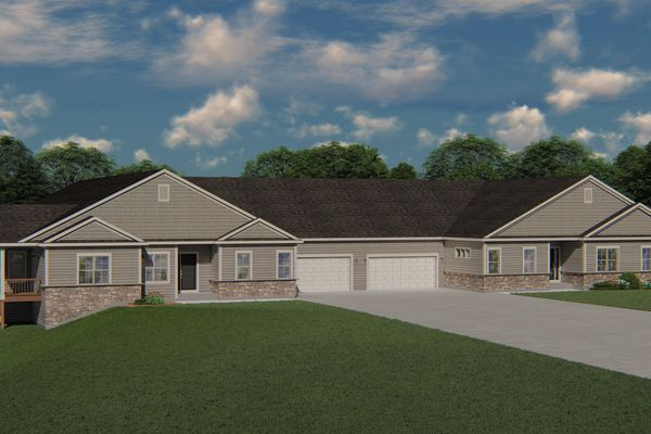 Quad Home at The Reserve at Wrenwood - Halen Homes