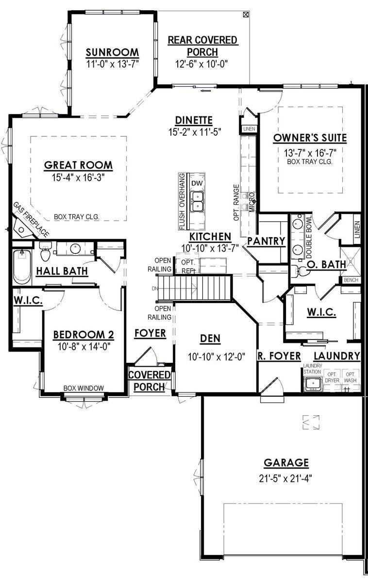 1212 E Sweetbriar Ln, Hartland - Halen Homes